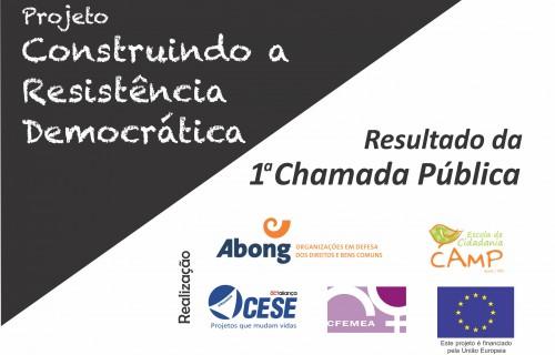 PROJETO CONSTRUINDO A RESISTÊNCIA DEMOCRÁTICA FACEBOOK